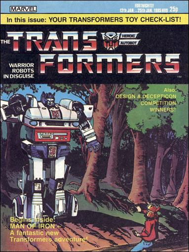 Transformers (UK) 9-A by Marvel UK