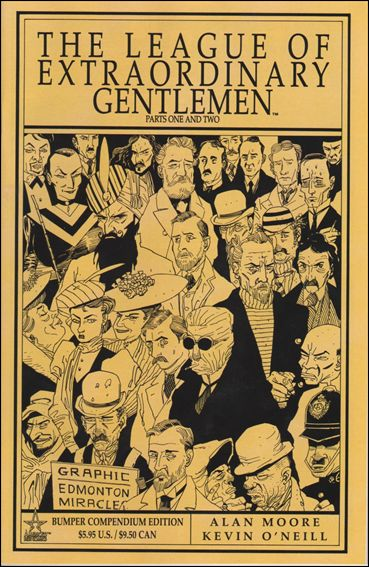League of Extraordinary Gentlemen Bumper Compendium Edition (1999) 1-A by America's Best Comics