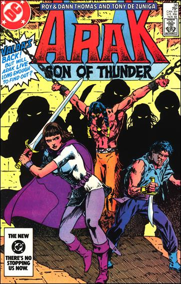 Arak Son of Thunder 38-A by DC