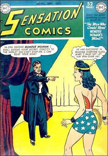 Sensation Comics (1942) 93-A by DC