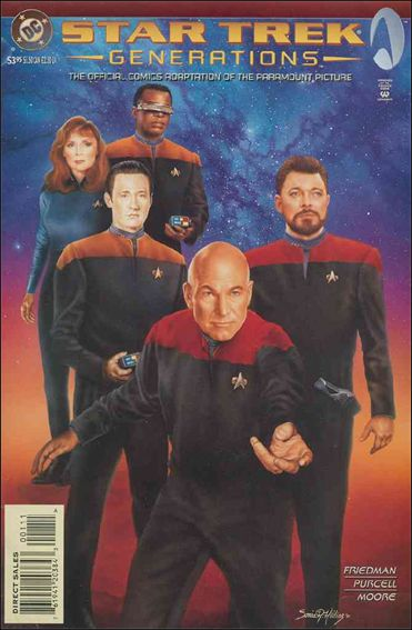Star Trek Generations 1-A by DC