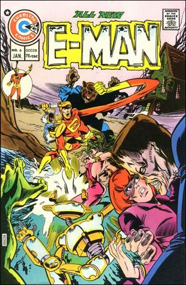 E-Man (1973) 6-A by Charlton