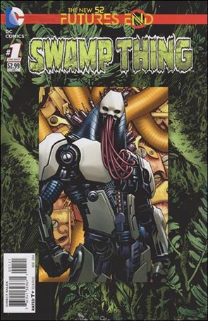 Swamp Thing: Futures End 1-B
