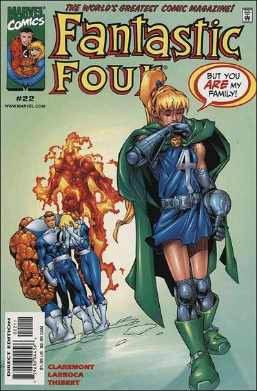 Fantastic Four (1998) 22-A by Marvel
