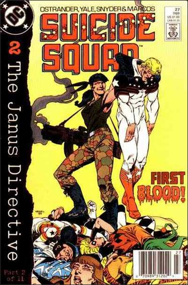 Suicide Squad (1987) 27-A by DC