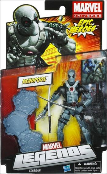 Marvel Legends (Epic Heroes) Deadpool (X-Force Costume) by Hasbro