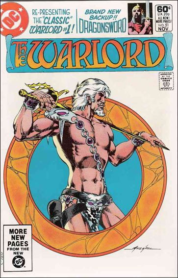 Warlord (1976) 51-A by DC