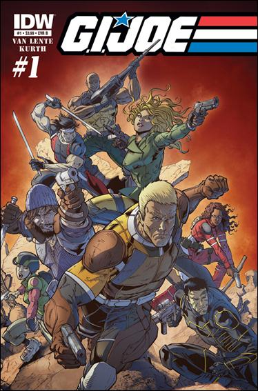 G.I. Joe (2013) 1-B by IDW