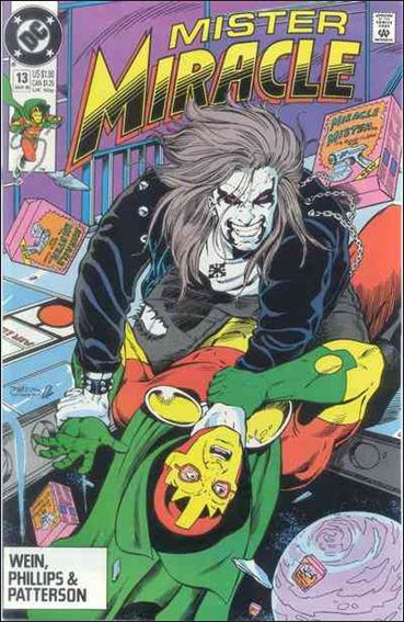 Mister Miracle (1989) 13-A by DC