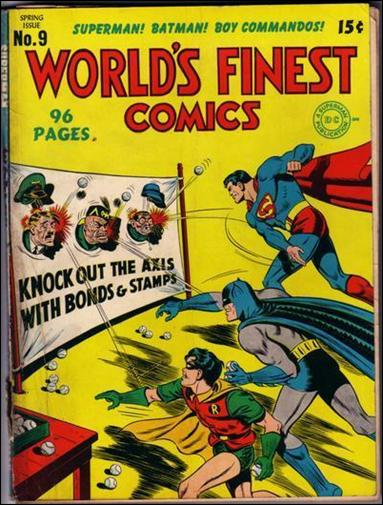 World's Finest Comics 9-A by DC