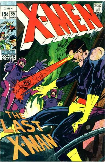 X-Men (1963) 59-A by Marvel