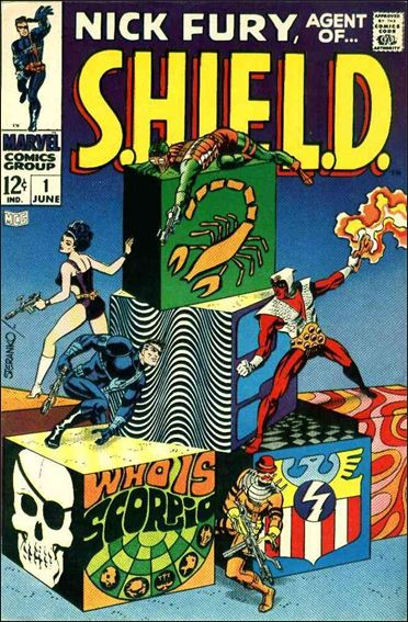 Nick Fury, Agent of S.H.I.E.L.D. (1968) 1-A by Marvel
