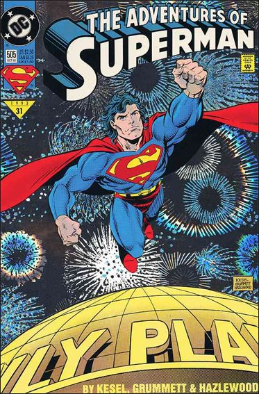 Adventures of Superman (1987) 505-A by DC
