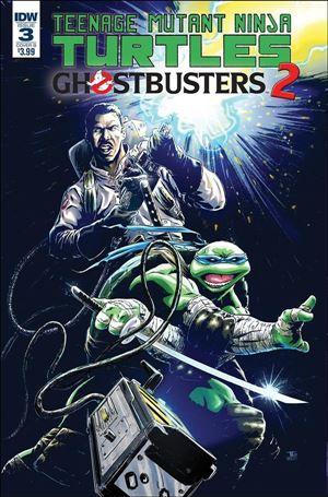 Teenage Mutant Ninja Turtles / Ghostbusters 2 3-B