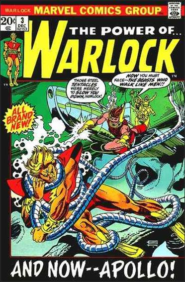 Warlock (1972) 3-A by Marvel