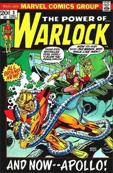 Warlock (1972) 3-A by Marvel