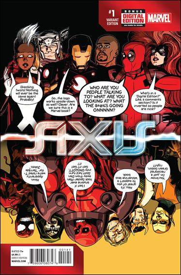 Avengers & X-Men: AXIS 1-F by Marvel