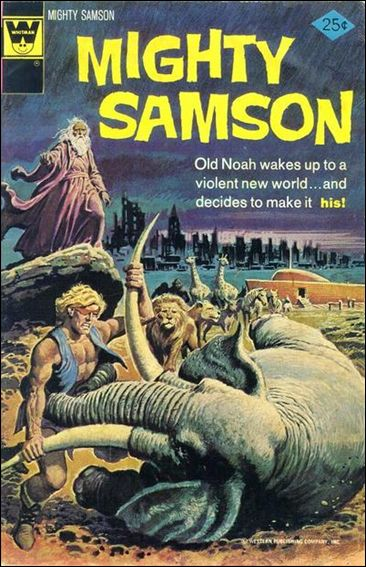 Mighty Samson (1964) 27-B by Gold Key