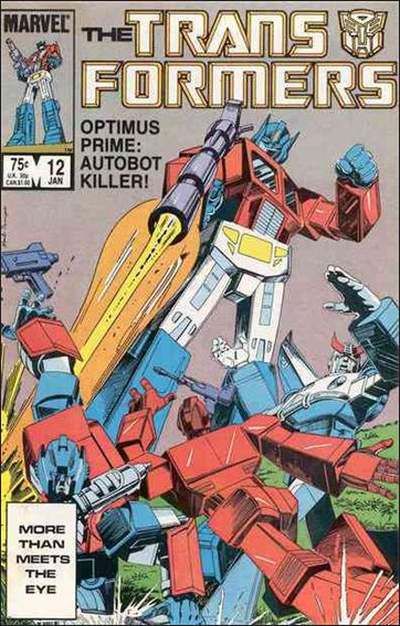 Transformers (1984) 12-A by Marvel