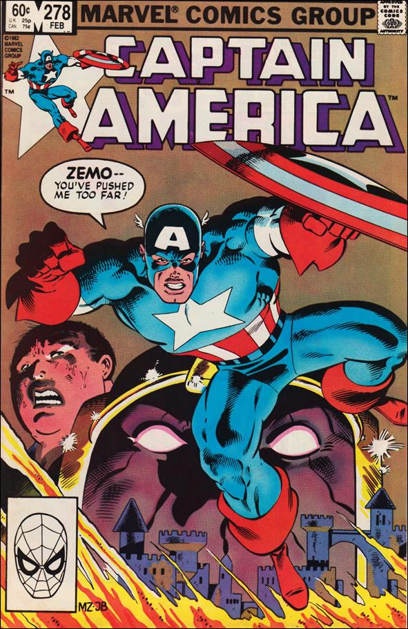 Captain America (1968) 278-A by Marvel