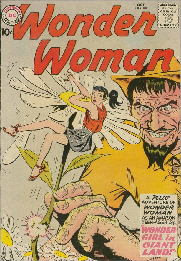 Wonder Woman (1942) 109-A by DC