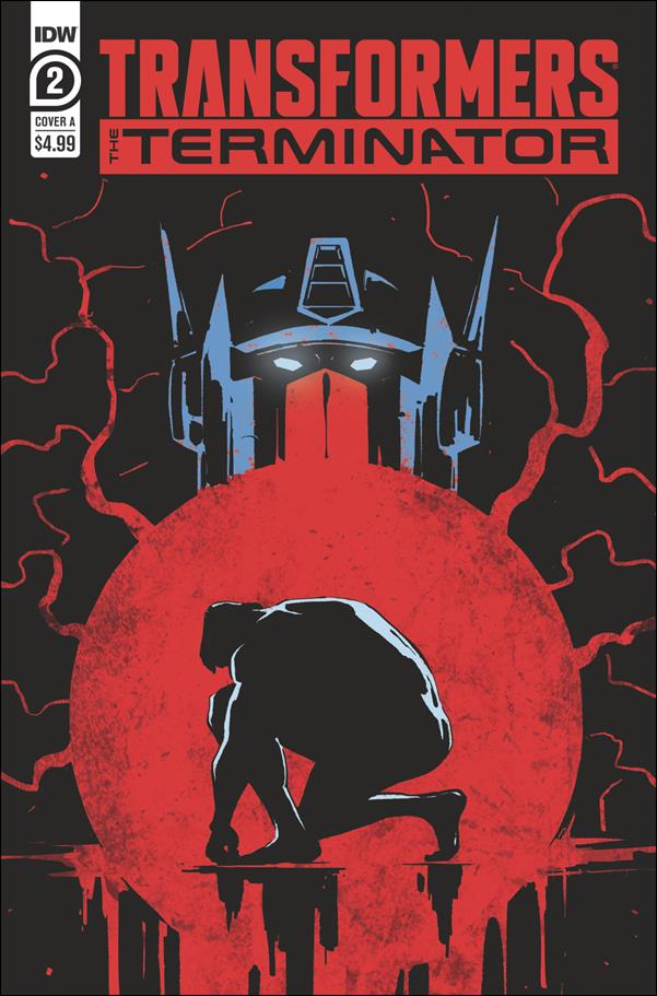 Transformers vs The Terminator 2-A by IDW