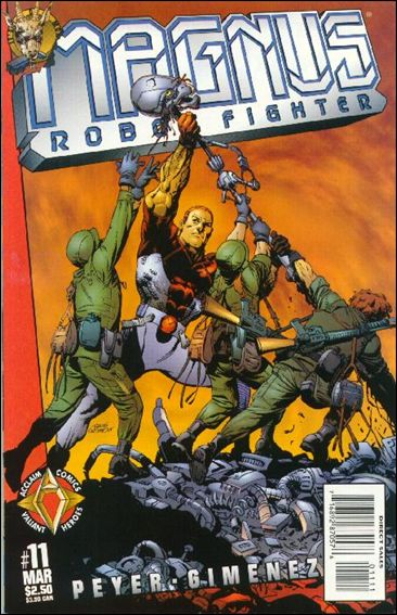 Magnus Robot Fighter (1997) 11-A by Acclaim