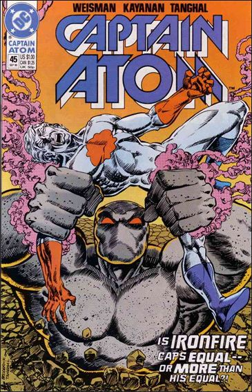 Captain Atom (1987) 45-A by DC