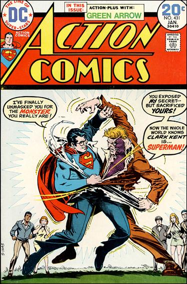 Action Comics (1938) 431-A by DC