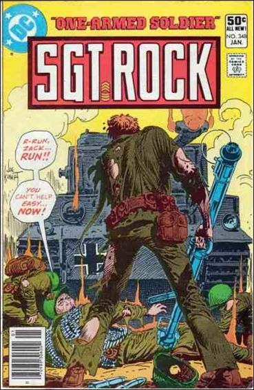 Sgt. Rock (1977) 348-A by DC