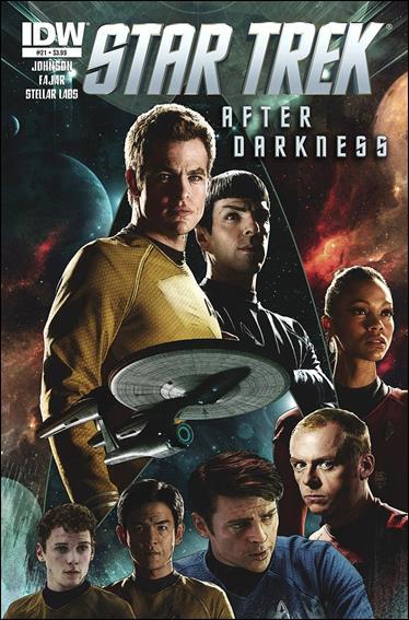 Star Trek (2011) 21-A by IDW