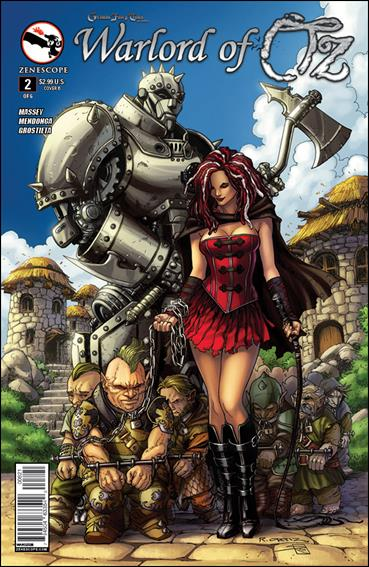 Grimm Fairy Tales Presents Warlord of Oz 2-B by Zenescope Entertainment