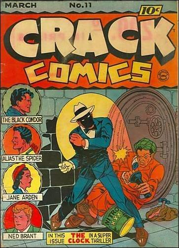 Crack Comics 11-A by Quality