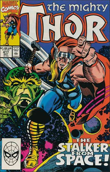 Thor (1966) 417-A by Marvel