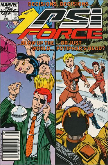 Psi-Force 31-A by Marvel