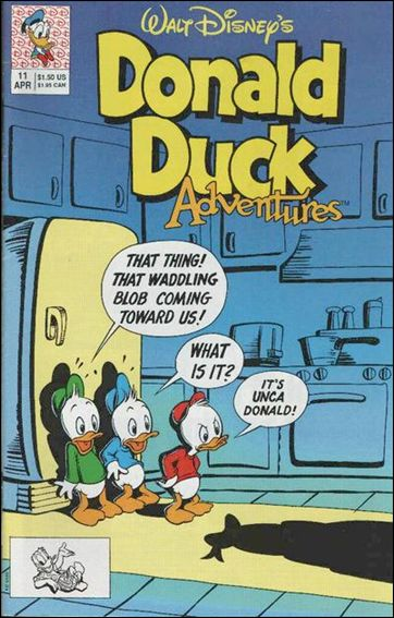 Donald Duck Adventures (1990) 11-A by Disney