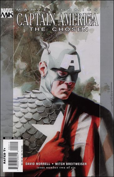 Captain America: The Chosen 2-A by Marvel