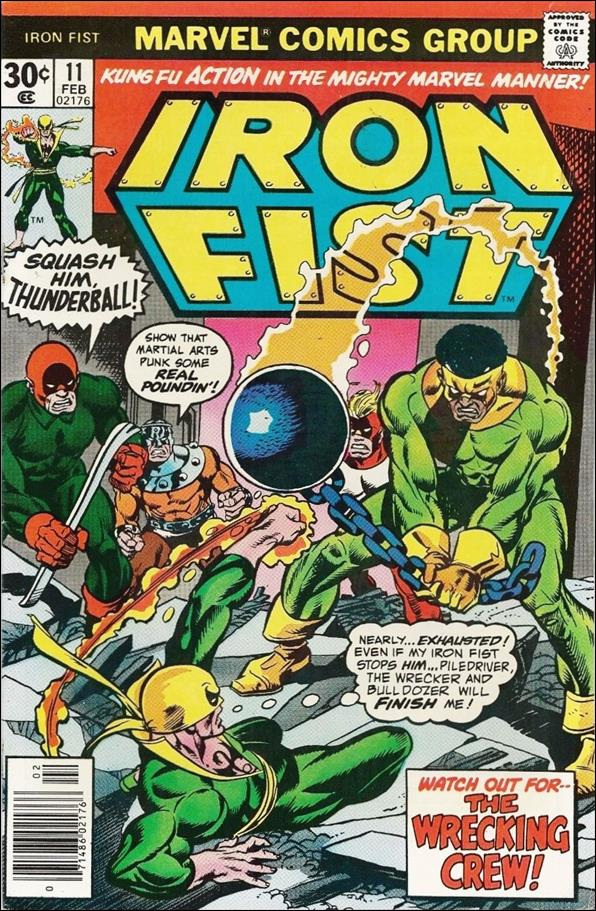 Iron Fist (1975) 11-A by Marvel