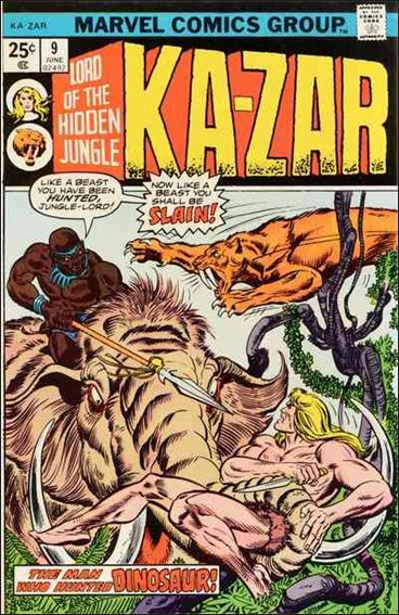 Ka-Zar (1974) 9-A by Marvel