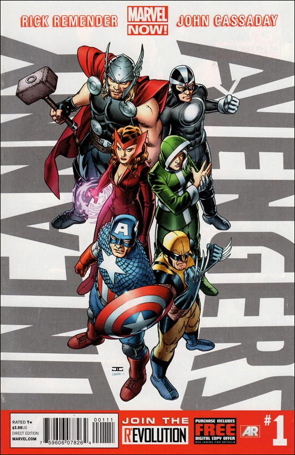 Uncanny Avengers (2012) 1-A by Marvel