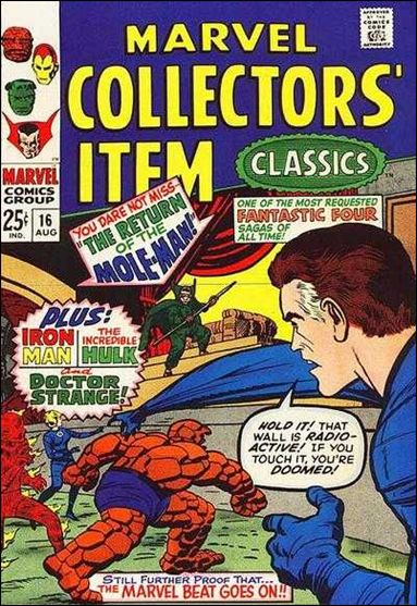 Marvel Collectors' Item Classics 16-A by Marvel