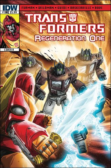 Transformers: Regeneration One 100-A by IDW