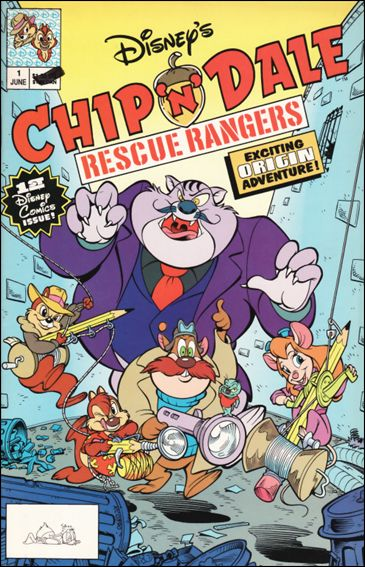 Chip 'n' Dale Rescue Rangers (1990) 1-A by Disney