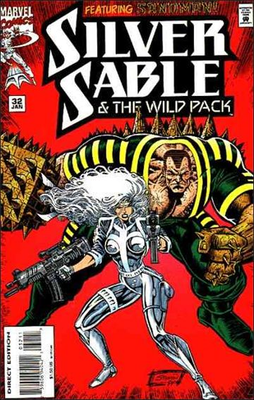 Silver Sable & The Wild Pack 32-A by Marvel