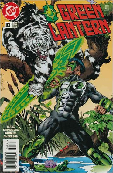 Green Lantern (1990) 82-A by DC