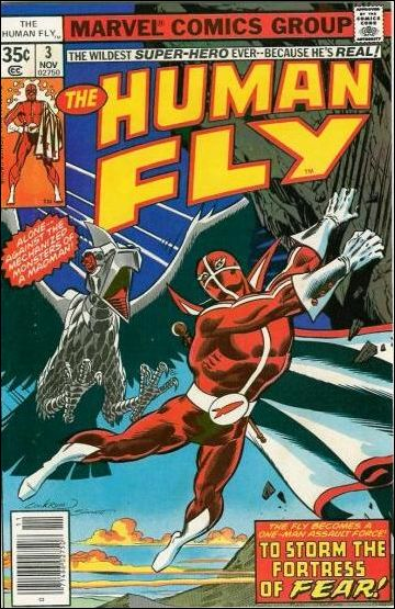 Human Fly 3-A by Marvel