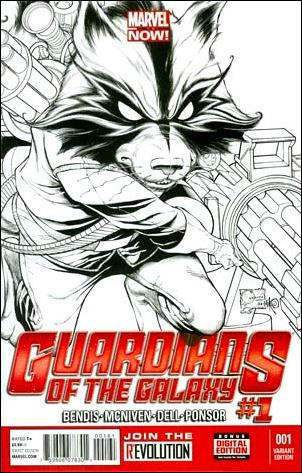 Guardians of the Galaxy (2013) 1-D by Marvel