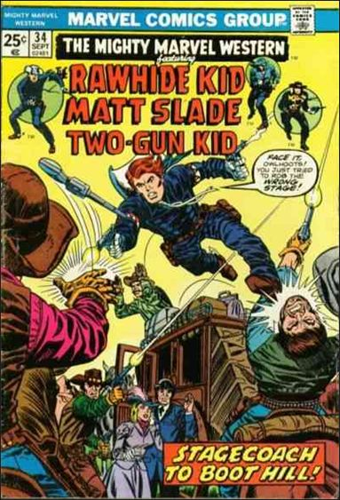 Mighty Marvel Western 34-A by Marvel