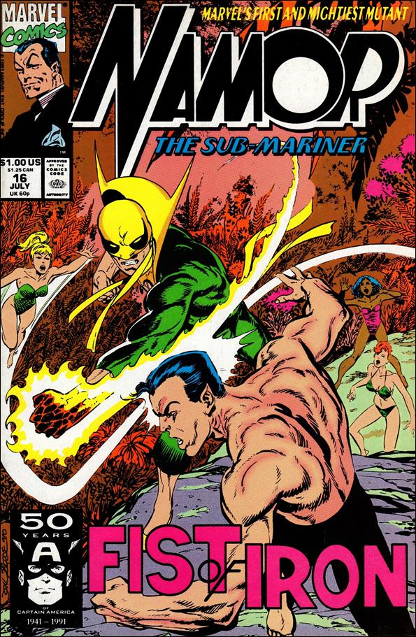 Namor: The Sub-Mariner 16-A by Marvel