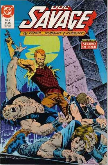 Doc Savage (1987) 2-A by DC